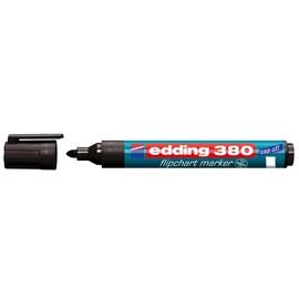 Flipchartmarker 380 1,5-3mm Rundspitze schwarz Edding 4-380001 Produktbild