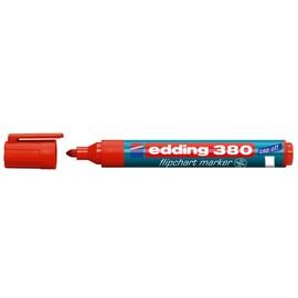 Flipchartmarker 380 1,5-3mm Rundspitze rot Edding 4-380002 Produktbild