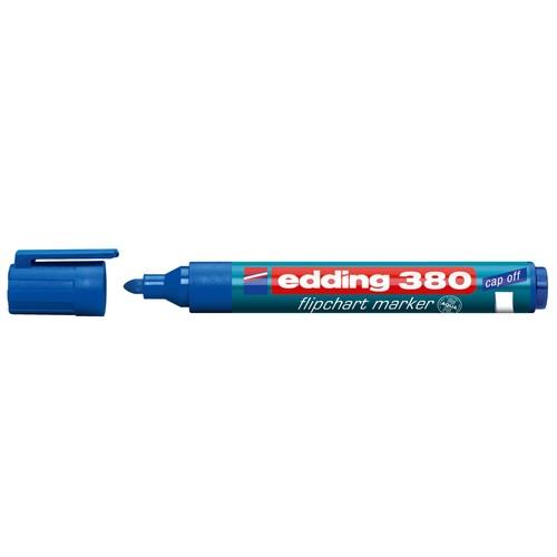 Flipchartmarker 380 1,5-3mm Rundspitze blau Edding 4-380003 Produktbild