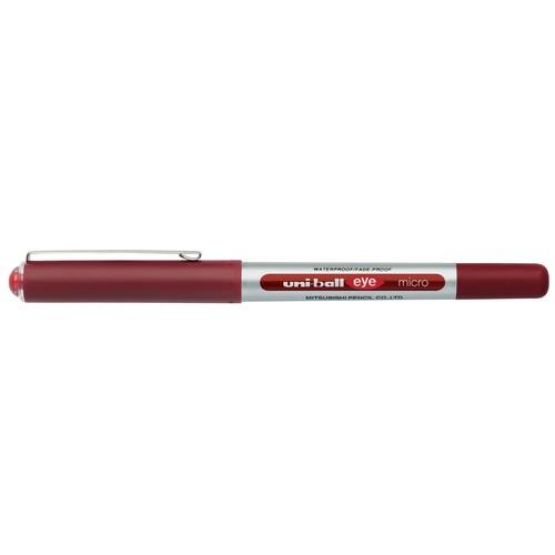Tintenroller Uniball Eye Micro UB-150 0,2mm rot Faber Castell 148021 Produktbild