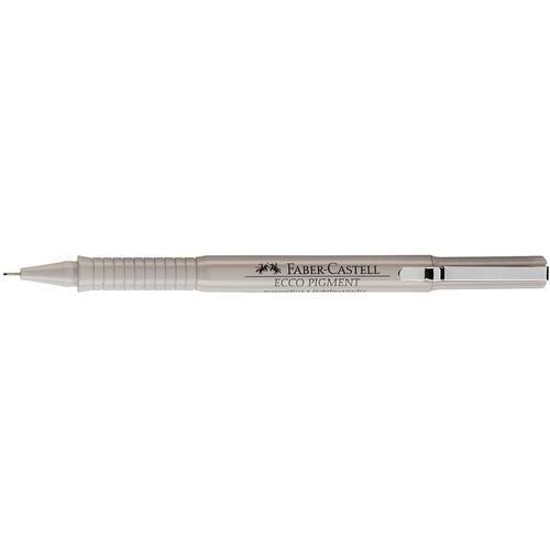 Fineliner Ecco Pigment 0,7mm schwarz Faber Castell 166799 Produktbild Front View L