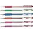 Tintenroller Hybrid Gel Grip 0,4mm silber Pentel K118-Z Produktbild Additional View 2 S