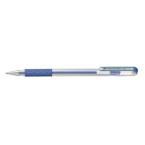 Tintenroller Hybrid Gel Grip 0,4mm metallic blau Pentel K118-MC Produktbild