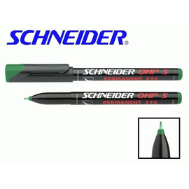 Folienstift Maxx 220 S 0,4mm superfein grün wasserfest Schneider 112404 Produktbild