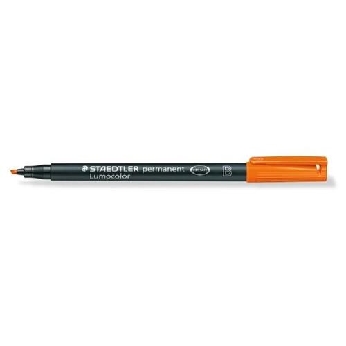 Folienstift Lumocolor 314 B 1-2,5mm breit orange wasserfest Staedtler 314-4 Produktbild