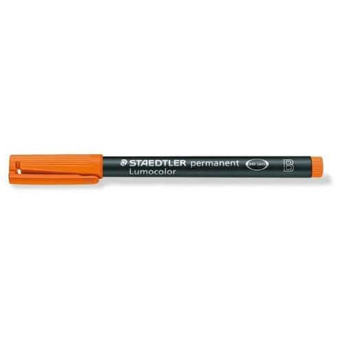 Folienstift Lumocolor 314 B 1-2,5mm breit orange wasserfest Staedtler 314-4 Produktbild Additional View 1 L