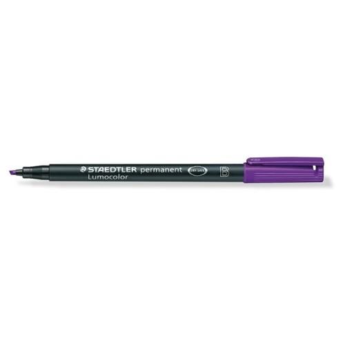 Folienstift Lumocolor 314 B 1-2,5mm breit violett wasserfest Staedtler 314-6 Produktbild