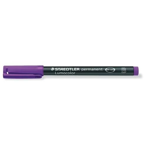 Folienstift Lumocolor 314 B 1-2,5mm breit violett wasserfest Staedtler 314-6 Produktbild Additional View 1 L