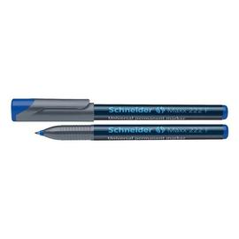 Folienstift Maxx 222 F 0,7mm fein blau wasserfest Schneider 112203 Produktbild