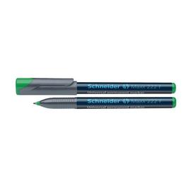 Folienstift Maxx 222 F 0,7mm fein grün wasserfest Schneider 112204 Produktbild