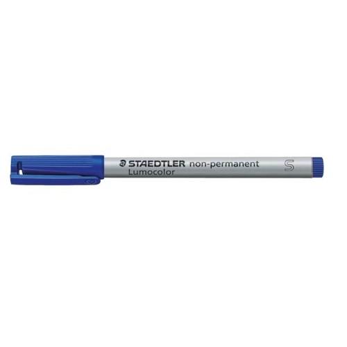 Folienstift Lumocolor 311 S 0,4mm superfein blau wasserlöslich Staedtler 311-3 Produktbild Additional View 1 L