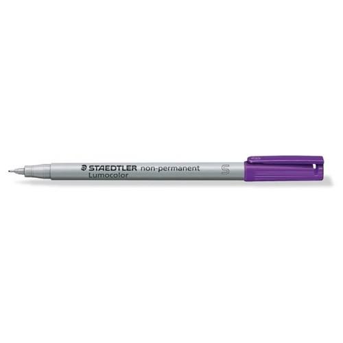 Folienstift Lumocolor 311 S 0,4mm superfein violett wasserlöslich Staedtler 311-6 Produktbild