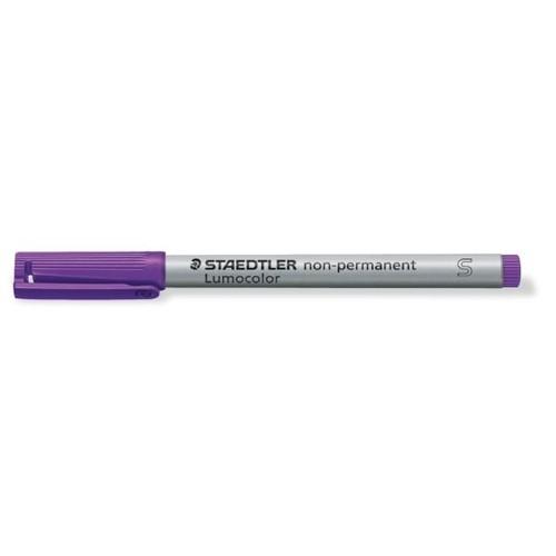 Folienstift Lumocolor 311 S 0,4mm superfein violett wasserlöslich Staedtler 311-6 Produktbild Additional View 1 L