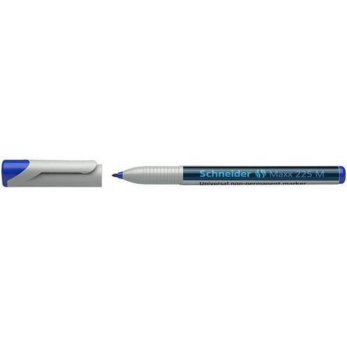 Folienstift Maxx 225 M 1,0mm mittel blau wasserlöslich Schneider 1213 Produktbild Front View L
