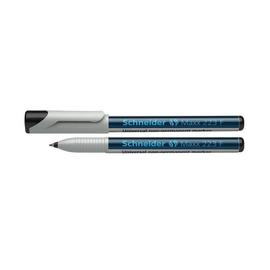 Folienstift Maxx 223 F 0,7mm fein schwarz wasserlöslich Schneider 112301 Produktbild
