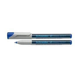 Folienstift Maxx 223 F 0,7mm fein blau wasserlöslich Schneider 112303 Produktbild