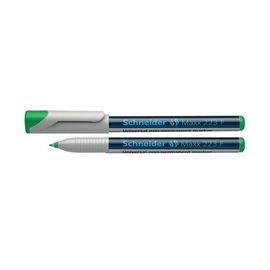 Folienstift Maxx 223 F 0,7mm fein grün wasserlöslich Schneider 112304 Produktbild