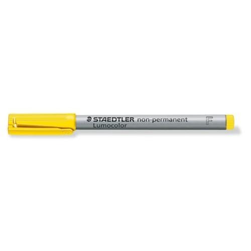 Folienstift Lumocolor 316 F 0,6mm fein gelb wasserlöslich Staedtler 316-1 Produktbild Additional View 1 L