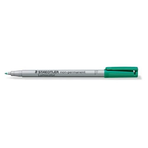 Folienstift Lumocolor 316 F 0,6mm fein grün wasserlöslich Staedtler 316-5 Produktbild