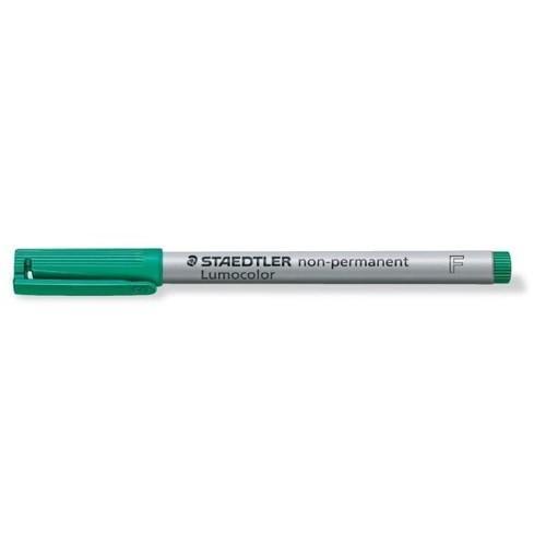 Folienstift Lumocolor 316 F 0,6mm fein grün wasserlöslich Staedtler 316-5 Produktbild Additional View 1 L