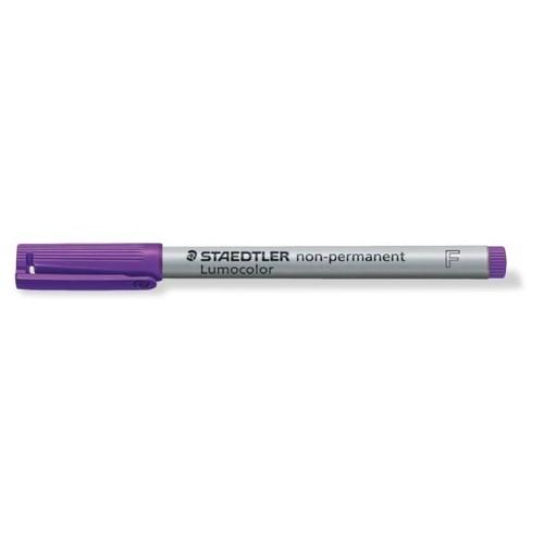 Folienstift Lumocolor 316 F 0,6mm fein violett wasserlöslich Staedtler 316-6 Produktbild Additional View 1 L