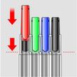 Folienstifte Lumocolor 313 S Etui 0,4mm superfein sortiert wasserfest Staedtler 313WP8 (ETUI=8 STÜCK) Produktbild Additional View 2 S