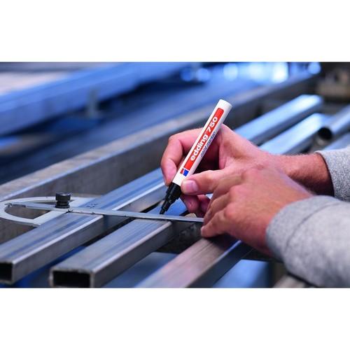 Lackmarker 750 2-4mm Rundspitze gelb Edding 4-750005 Produktbild Additional View 2 L