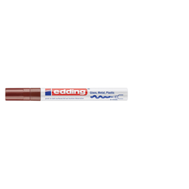 Lackmarker 750 Glanzlack Marker 2-4mm Rundspitze braun Edding 4-750-9-007 Produktbild