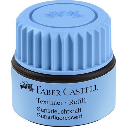 Textmarker-Nachfülltank Grip 1549 Refill blau Faber Castell 154951 (ST=25 MILLILITER) Produktbild Front View L