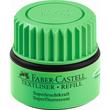 Textmarker-Nachfülltank Grip 1549 Refill grün Faber Castell 154963 (ST=25 MILLILITER) Produktbild Additional View 1 S