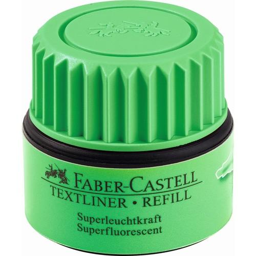 Textmarker-Nachfülltank Grip 1549 Refill grün Faber Castell 154963 (ST=25 MILLILITER) Produktbild Additional View 1 L
