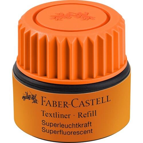 Textmarker-Nachfülltank Grip 1549 Refill orange Faber Castell 154915 (ST=25 MILLILITER) Produktbild Front View L