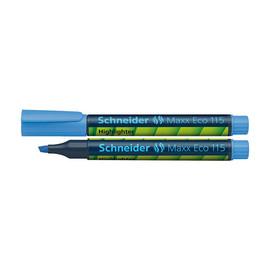 Textmarker Maxx 115 1-5mm Keilspitze blau Schneider 111503 Produktbild