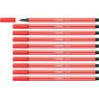 Fasermaler Pen 68 1mm Rundspitze hellrot Stabilo 68/40 Produktbild Additional View 3 S