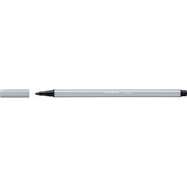 Fasermaler Pen 68 1mm Rundspitze hellgrau Stabilo 68/94 Produktbild