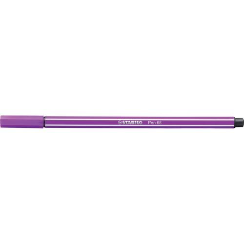Fasermaler Pen 68 1mm Rundspitze lila Stabilo 68/58 Produktbild Additional View 1 L