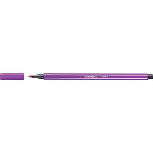 Fasermaler Pen 68 1mm Rundspitze lila Stabilo 68/58 Produktbild