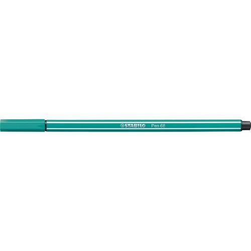 Fasermaler Pen 68 1mm Rundspitze türkisblau Stabilo 68/51 Produktbild Additional View 1 L