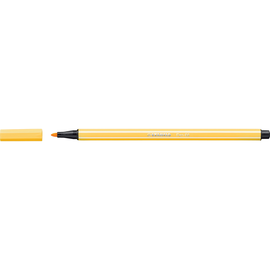 Fasermaler Pen 68 1mm Rundspitze gelb Stabilo 68/44 Produktbild