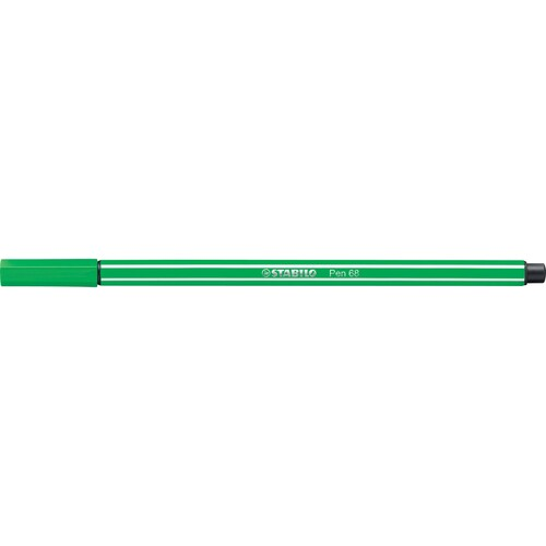 Fasermaler Pen 68 1mm Rundspitze smaragdgrün Stabilo 68/36 Produktbild Additional View 1 L
