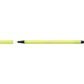 Fasermaler Pen 68 1mm Rundspitze neongelb Stabilo 68/024 Produktbild