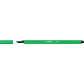 Fasermaler Pen 68 1mm Rundspitze neongrün Stabilo 68/033 Produktbild