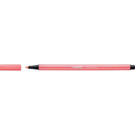 Fasermaler Pen 68 1mm Rundspitze neonrot Stabilo 68/040 Produktbild