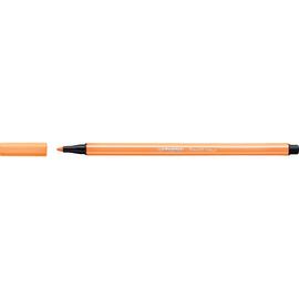 Fasermaler Pen 68 1mm Rundspitze neonorange Stabilo 68/054 Produktbild