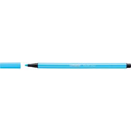 Fasermaler Pen 68 1mm Rundspitze neonblau Stabilo 68/031 Produktbild