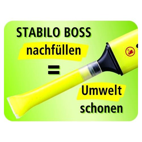 Textmarker Boss Original 70 2-5mm Keilspitze lavendel Stabilo 70/55 Produktbild Additional View 9 L