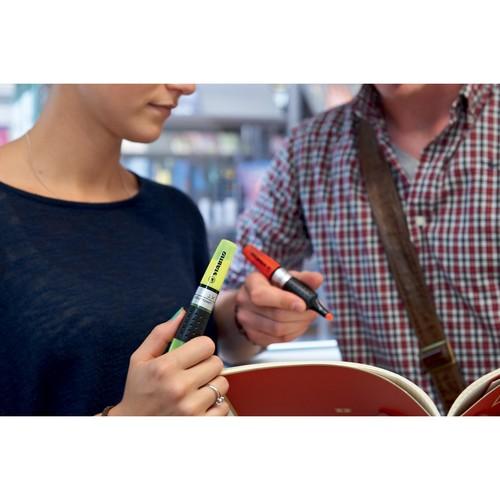Textmarker Luminator 71 2-5mm Keilspitze gelb Stabilo 71/24 Produktbild Additional View 5 L