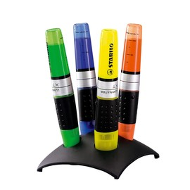 Textmarker Luminator 71 Tischset 2-5mm Keilspitze sortiert Stabilo 7104-2 (ST=4 STÜCK) Produktbild
