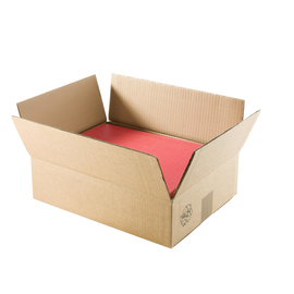 Versandkarton Geschenkverpackung braun D: 90mm / Höhe: 380mm / 3 Flaschen Produktbild