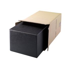 Versandkarton Geschenkverpackung braun D: 90mm / Höhe: 380mm / 6 Flaschen Produktbild